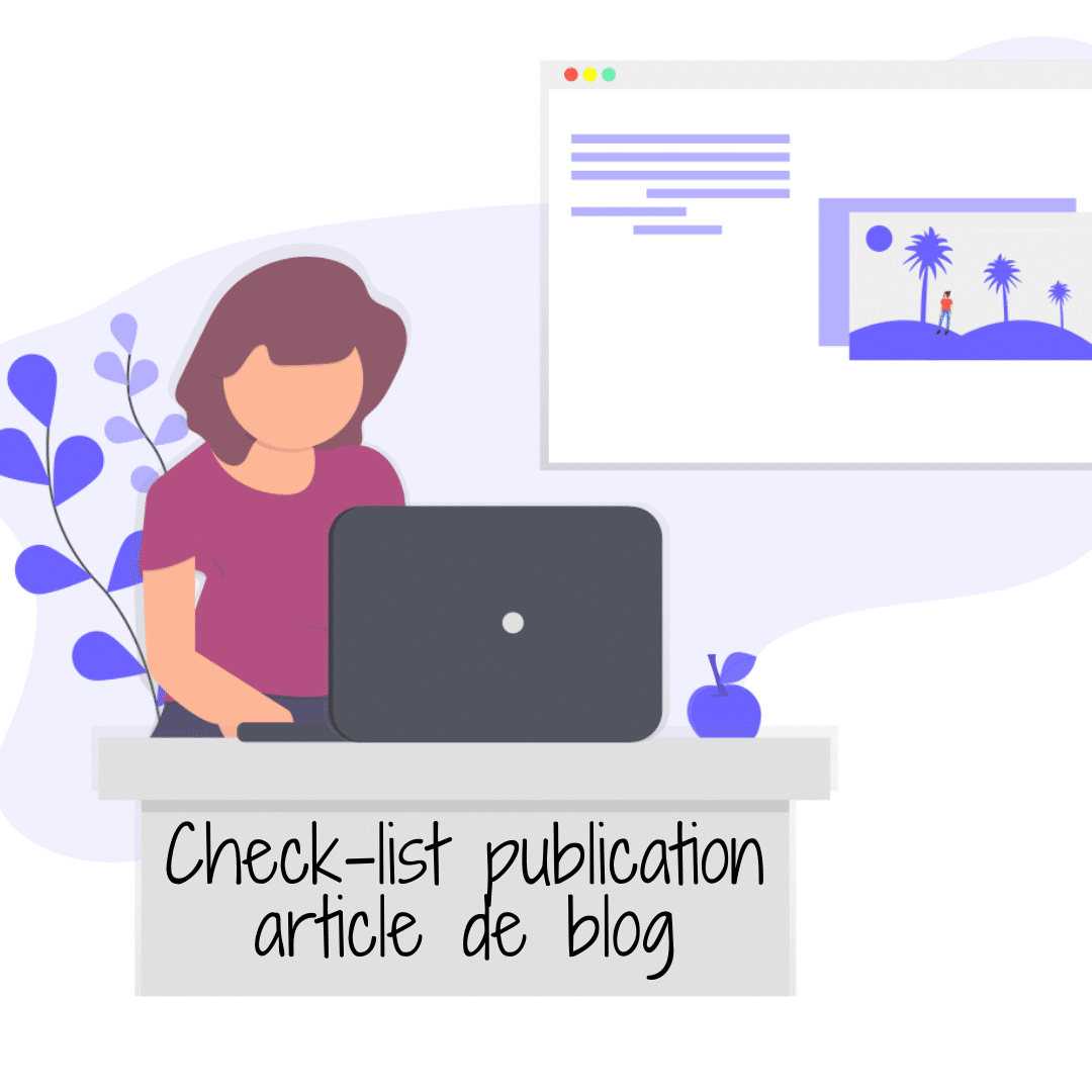 Check-list publication article de blog