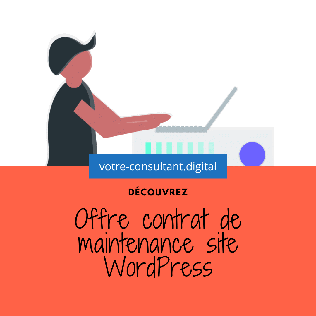 Offre contrat de maintenance site WordPress