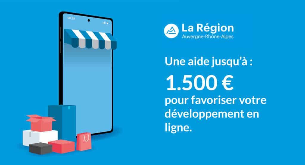 La Région Auvergne-Rhône-Alpes : aide pour favoriser le développement en ligne